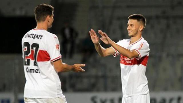 Leon Dajaku ab sofort bei den VfB-Profis